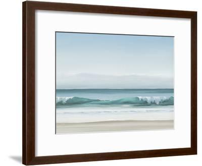 Blue Horizon II-Dawn Reader-Framed Art Print