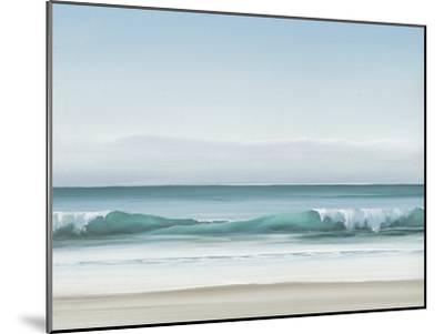 Blue Horizon II-Dawn Reader-Mounted Art Print
