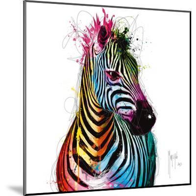Zebra Pop-Patrice Murciano-Mounted Art Print