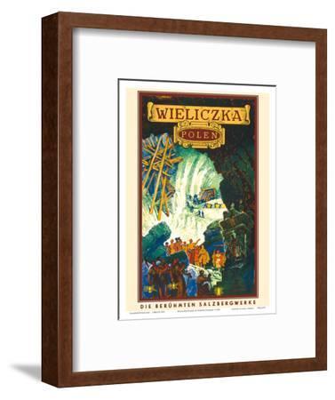 Wieliczka, Polen (Poland)-Henryk Uziemb?o-Framed Art Print