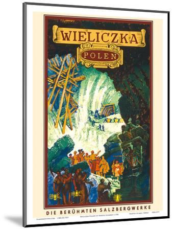 Wieliczka, Polen (Poland)-Henryk Uziemb?o-Mounted Art Print