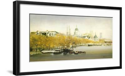 The Discovery-Fransico Sillue-Framed Giclee Print