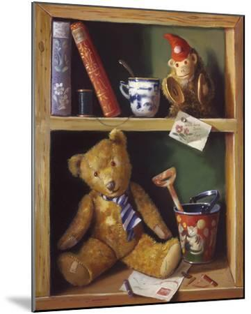 Ted and Friends II-Raymond Campbell-Mounted Giclee Print