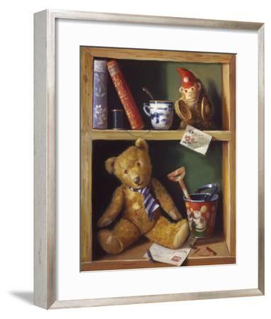 Ted and Friends II-Raymond Campbell-Framed Giclee Print