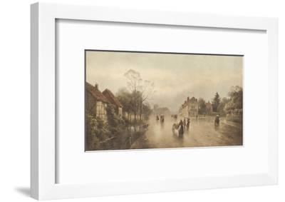 A Showery Day-James Gozzard-Framed Premium Giclee Print