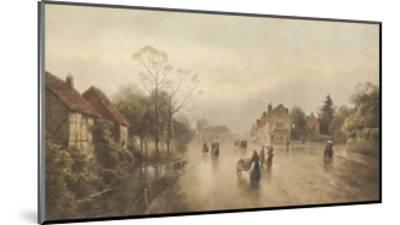 A Showery Day-James Gozzard-Mounted Premium Giclee Print