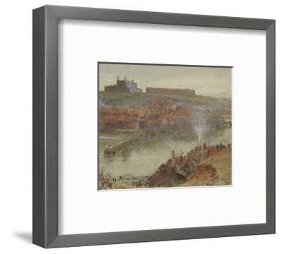View of Whitby, 1905-Albert Goodwin-Framed Premium Giclee Print