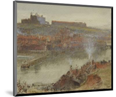 View of Whitby, 1905-Albert Goodwin-Mounted Premium Giclee Print