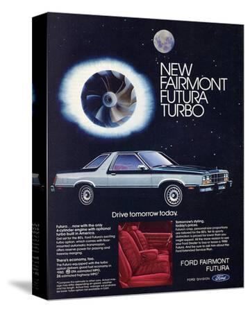 1980 Ford Fairmont Futuraturbo--Stretched Canvas Print