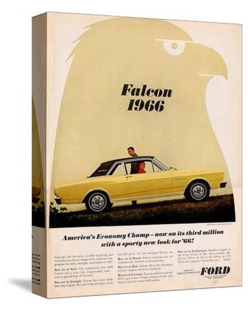 Ford 1966 Falcon Economy Champ--Stretched Canvas Print