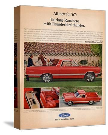 Ford 1967 Fairlane Ranchero--Stretched Canvas Print