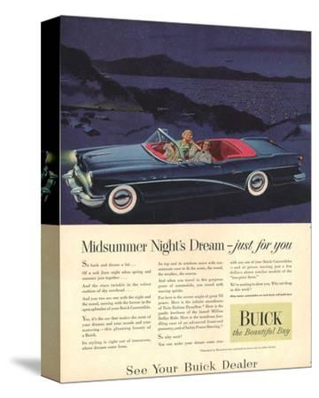 GM Buick - Just for You--Stretched Canvas Print