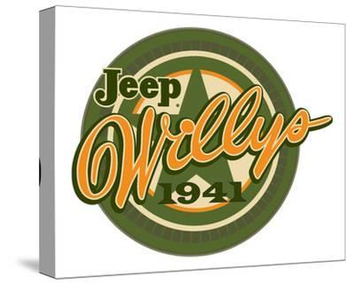 Jeep Willys 1941--Stretched Canvas Print