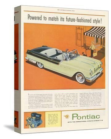 Pontiac-Future Fashioned Style--Stretched Canvas Print