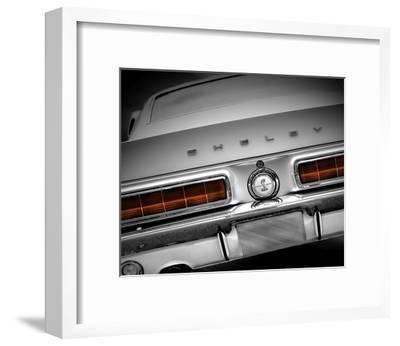 Shelby Mustang--Framed Art Print