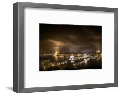 Budapest From Buda Castle--Framed Art Print