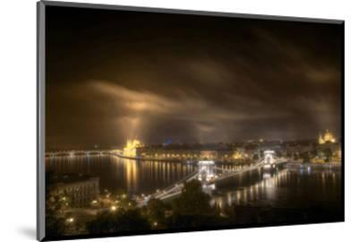 Budapest From Buda Castle--Mounted Art Print