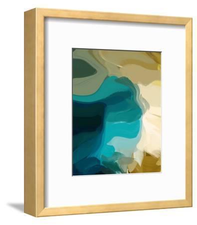 Green Hills--Framed Art Print