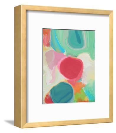 Through Spring Kaleidoscope I--Framed Art Print
