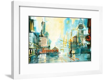 Vite, vite, 8-Roland Palmaerts-Framed Art Print