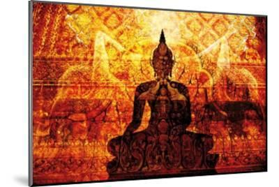 Temple with Akar Yoga-Daniel Stanford-Mounted Art Print