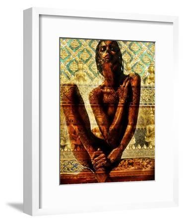 Fashion Temple-Daniel Stanford-Framed Art Print