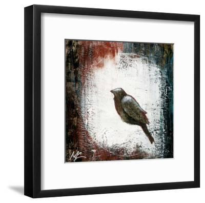 Black Bird 1-Marie Claprood-Framed Art Print