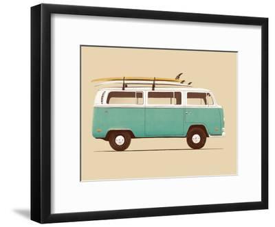 Blue Van-Florent Bodart-Framed Art Print