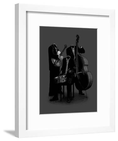 Les Invisibles-Florent Bodart-Framed Art Print