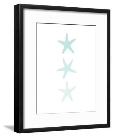 Mint Starfish 3-Jetty Printables-Framed Art Print