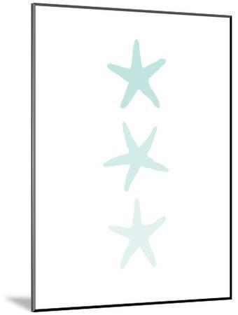 Mint Starfish 3-Jetty Printables-Mounted Art Print