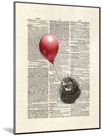 Hedgehog Aviator-Matt Dinniman-Mounted Art Print