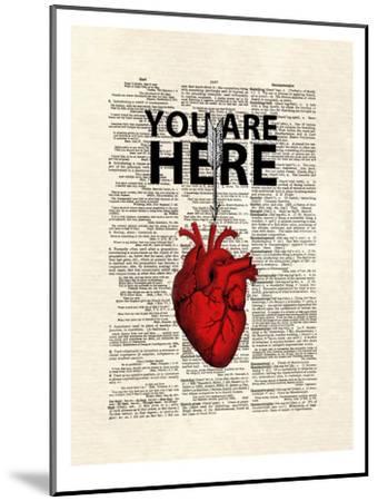 You Are Here-Matt Dinniman-Mounted Art Print
