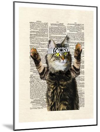 Karate Kitty-Matt Dinniman-Mounted Art Print