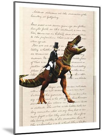 Lincoln T Rex-Matt Dinniman-Mounted Art Print