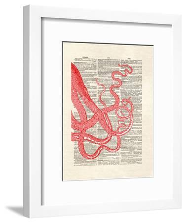 Tentacles-Matt Dinniman-Framed Art Print