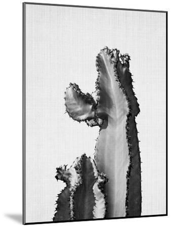 Cactus On Grey 2-LILA X LOLA-Mounted Art Print