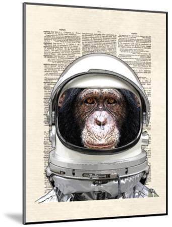 Space Chimp-Matt Dinniman-Mounted Art Print