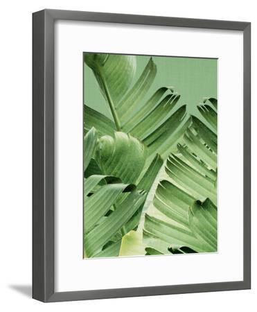 Tropical Leaves 2-LILA X LOLA-Framed Art Print