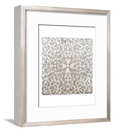 Applique-Mali Nave-Framed Art Print