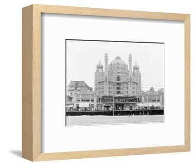Atlantic City's Marlborough-Blenheim Hotel, ca. 1908-Vintage Photography-Framed Art Print