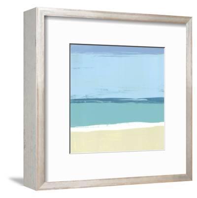 Beach II-Cathe Hendrick-Framed Art Print