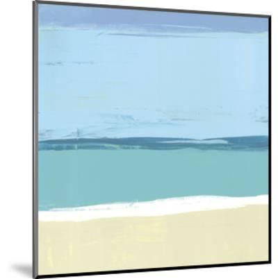 Beach II-Cathe Hendrick-Mounted Art Print