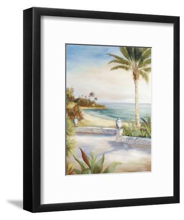 Beach Villa-Marc Lucien-Framed Art Print