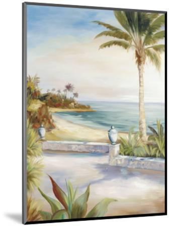 Beach Villa-Marc Lucien-Mounted Art Print