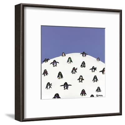 Baby, it's Cold Outside-Brian Nash-Framed Art Print