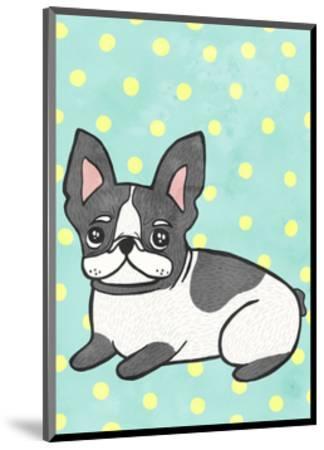 Boston Terrier-My Zoetrope-Mounted Art Print