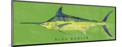 Blue Marlin-John W^ Golden-Mounted Art Print