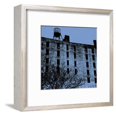 Blue Wall-Erin Clark-Framed Art Print