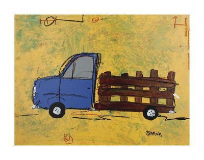 Big Blue-Brian Nash-Framed Art Print
